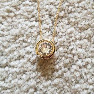 White house black market Swarovski  necklace